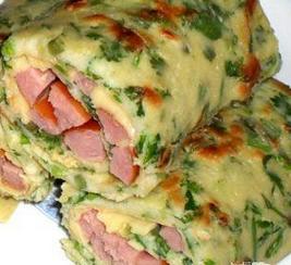 早餐蛋饼卷的做法大全图解 健康快捷营养早餐蛋饼卷