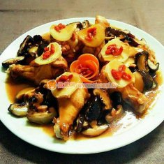 香菇蒸鸡翅根的做法