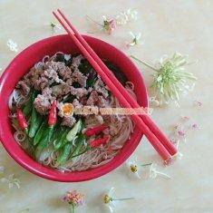 自制瘦肉青菜汤面的做法