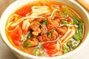 番茄肥牛汤面的做法视频
