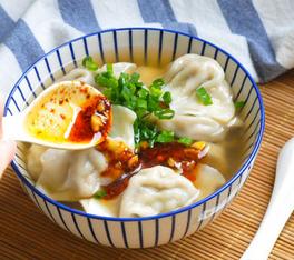 酸汤水饺的家常做法
