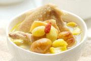 冬日滋补:栗子老鸡汤的做法视频