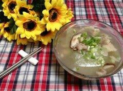肉片冬瓜汤的做法