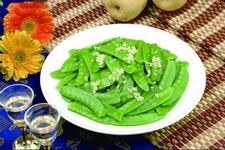 蒜蓉荷兰豆的做法