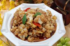 花椰菜炒肉的做法