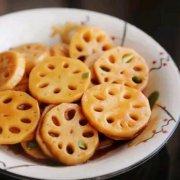 糖醋藕片的做法