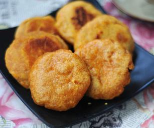 香煎南瓜饼的家常做法