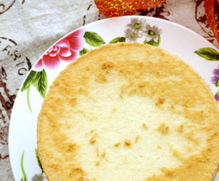 淡奶油戚风蛋糕的家常做法