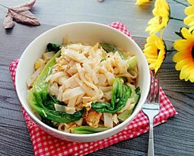 生菜炒米面的家常做法