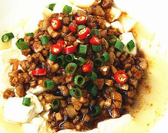 肉末嫩豆腐的家常做法