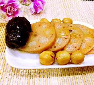 红枣莲子糯米藕的家常做法