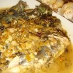 咸菜炖汪刺鱼的做法
