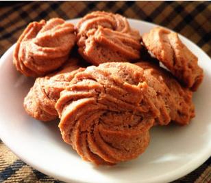 可可曲奇饼干的家常做法