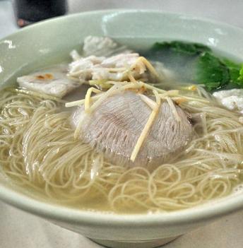 东台鱼汤面的做法