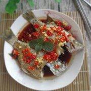 剁椒蒸太阳鱼的做法