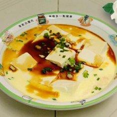 豆腐蒸水蛋的做法