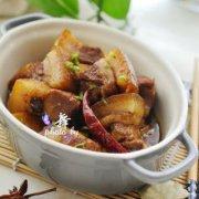 红烧肉烧笋的做法