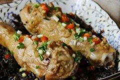 梅干菜蒸鸡腿的家常做法