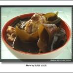 海带炖鸡的做法