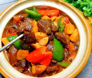 杏鲍菇烧牛肉的家常做法