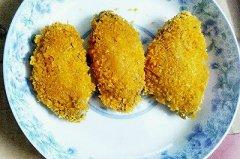 面包糠烤鸡翅两种吃法的做法