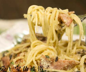 奶油蘑菇意面的家常做法