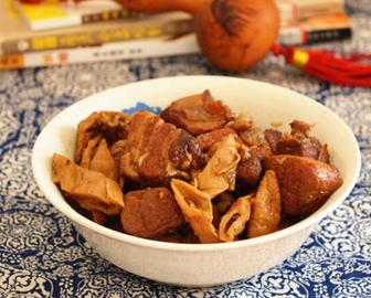 笋干红烧肉的家常做法