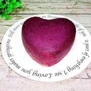 奶香紫薯蛋糕的做法