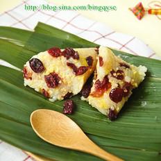 蔓越莓杂粮粽子的做法