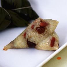 枣豆粽子的做法