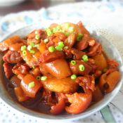 粽子烧肉的做法