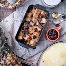 轻甜品—吐司布丁的做法