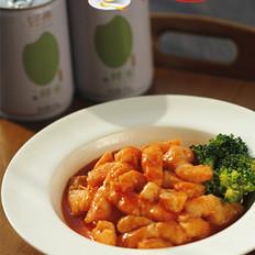 茄汁龙利鱼盖浇饭的做法