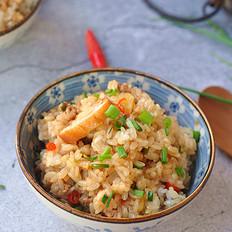 盖浇糯米饭的做法
