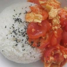 西红柿盖浇饭的做法