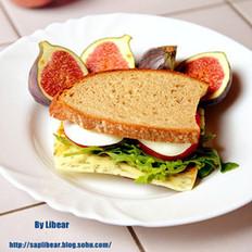 简餐三明治的做法