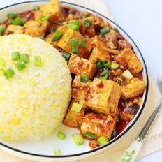 麻婆豆腐盖浇饭的做法