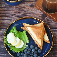 紫米三明治的做法
