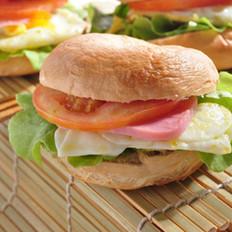 贝果三明治的做法