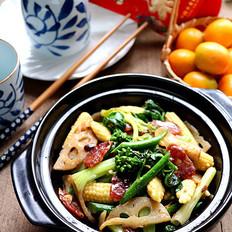 #合家欢乐#酱炒杂锦菜的做法