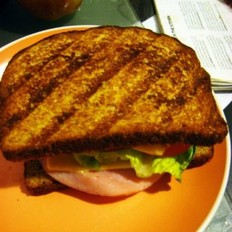 烤盘三明治的做法