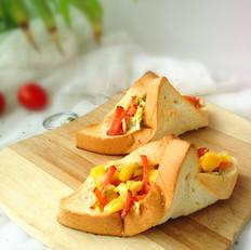 玉米沙拉三明治菜卷的做法