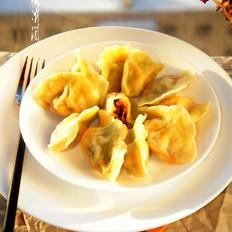 香菇酱白菜黑木耳馅水饺的做法