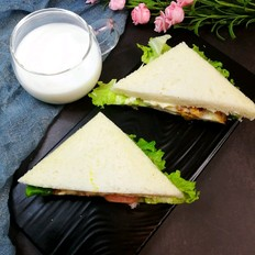 上班族三明治-没时间吃早餐的看过来的做法