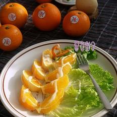 沙拉酱拌水果蔬菜的做法