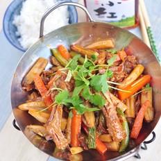 干锅酱鸭的做法