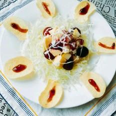 薯片水果沙拉的做法