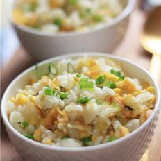 亚麻籽油蛋炒饭的做法