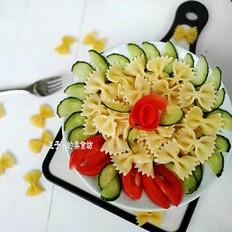 意粉蔬菜拌沙拉酱的做法