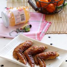 果酱烤鸡翅的做法